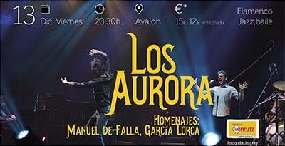 Los Aurora.  Homenajes: Manuel de Falla y Garc