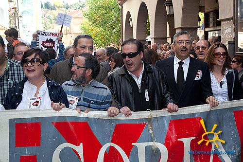 Manifestación SoriaYA 2010 foto
