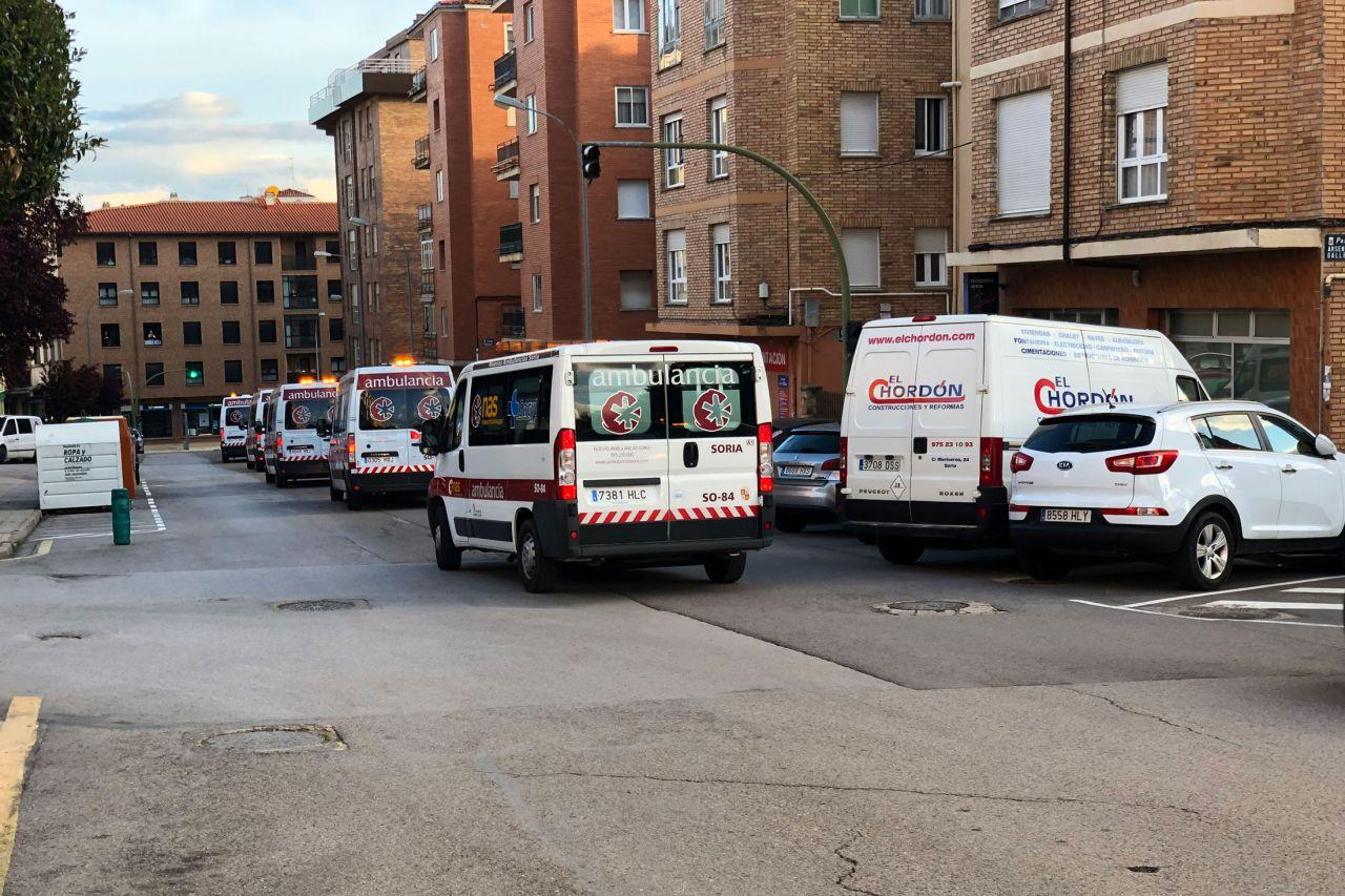 Última caravana de los cuerpos de seguridad foto