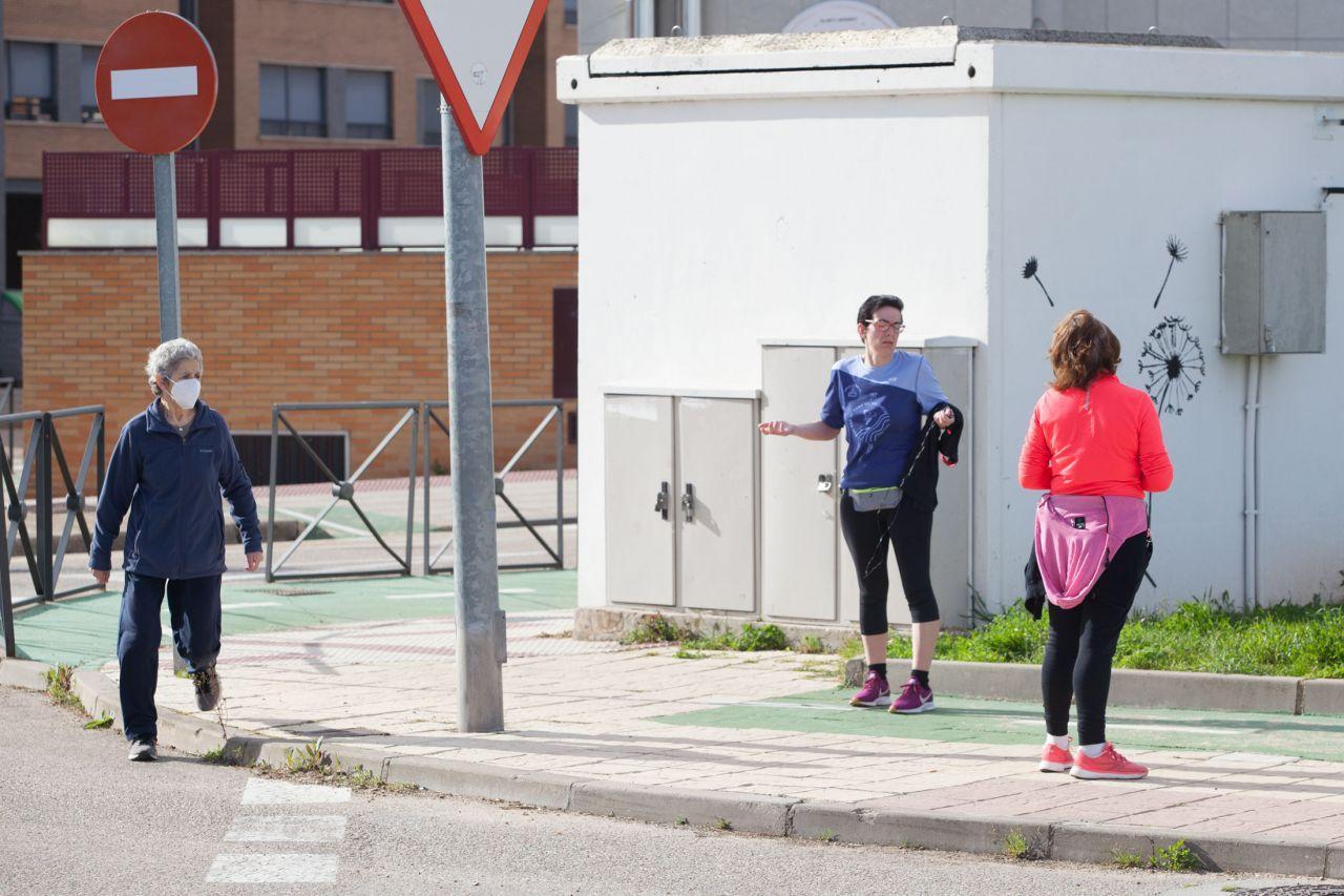 Salida para hacer deporte tras el confinamiento. foto