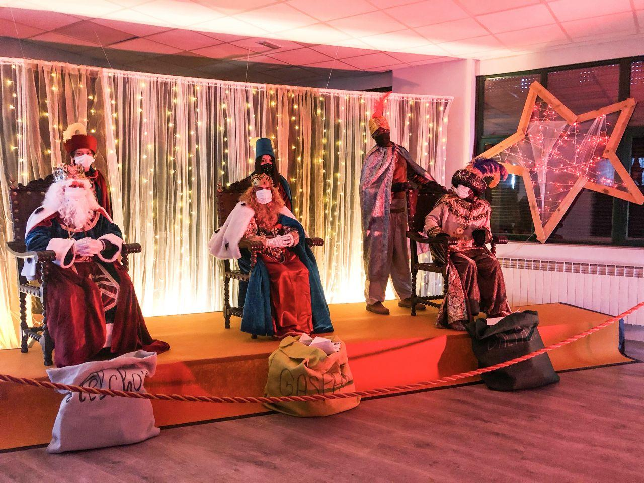 Los Reyes Magos en Soria foto