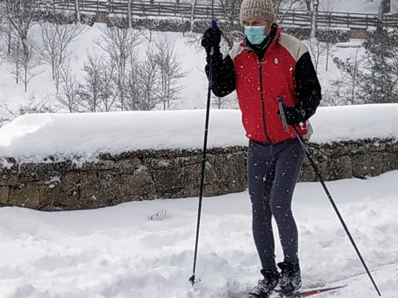Estampas de la nevada en Soria