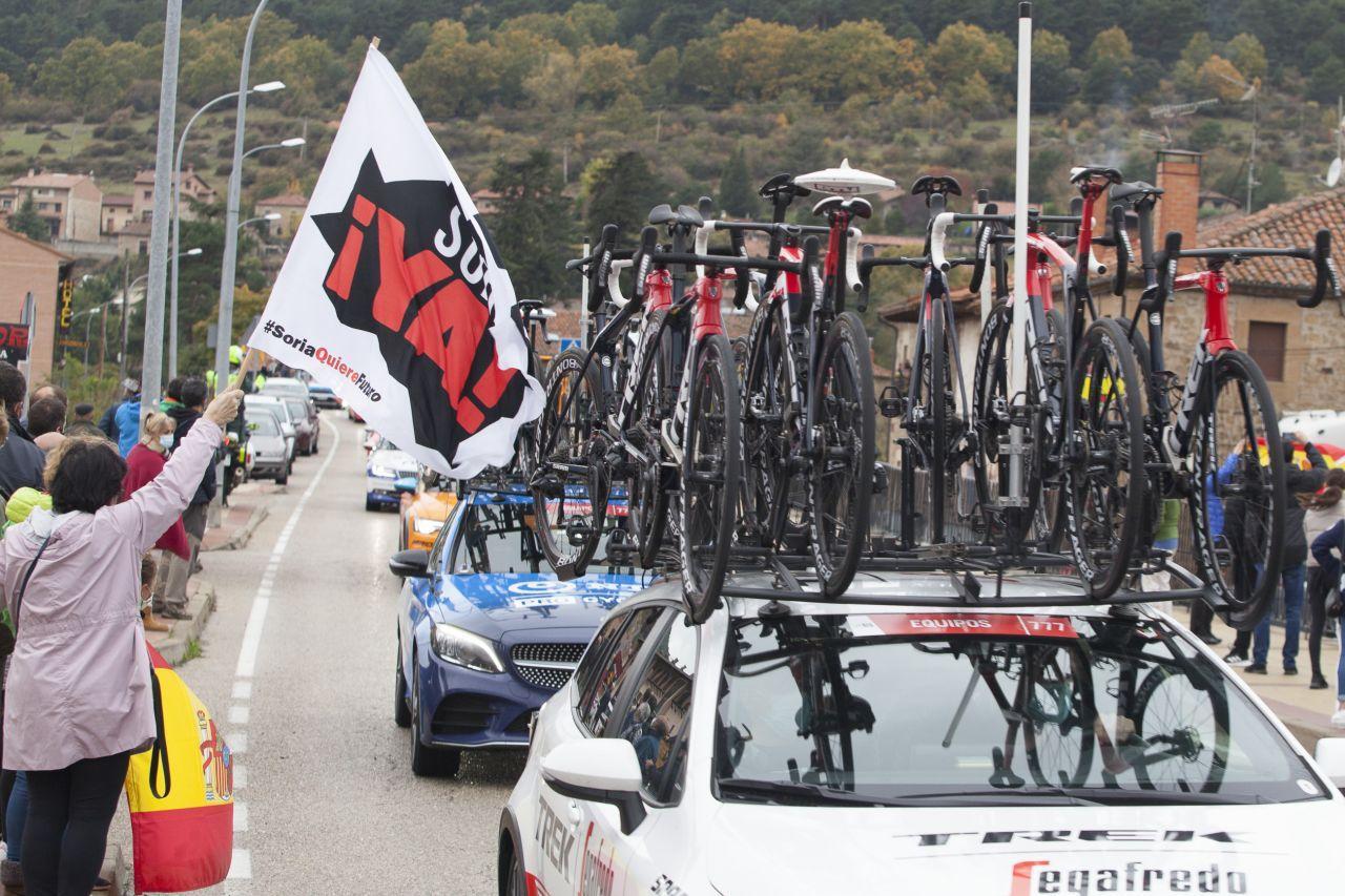 La vuelta ciclista España en Soria