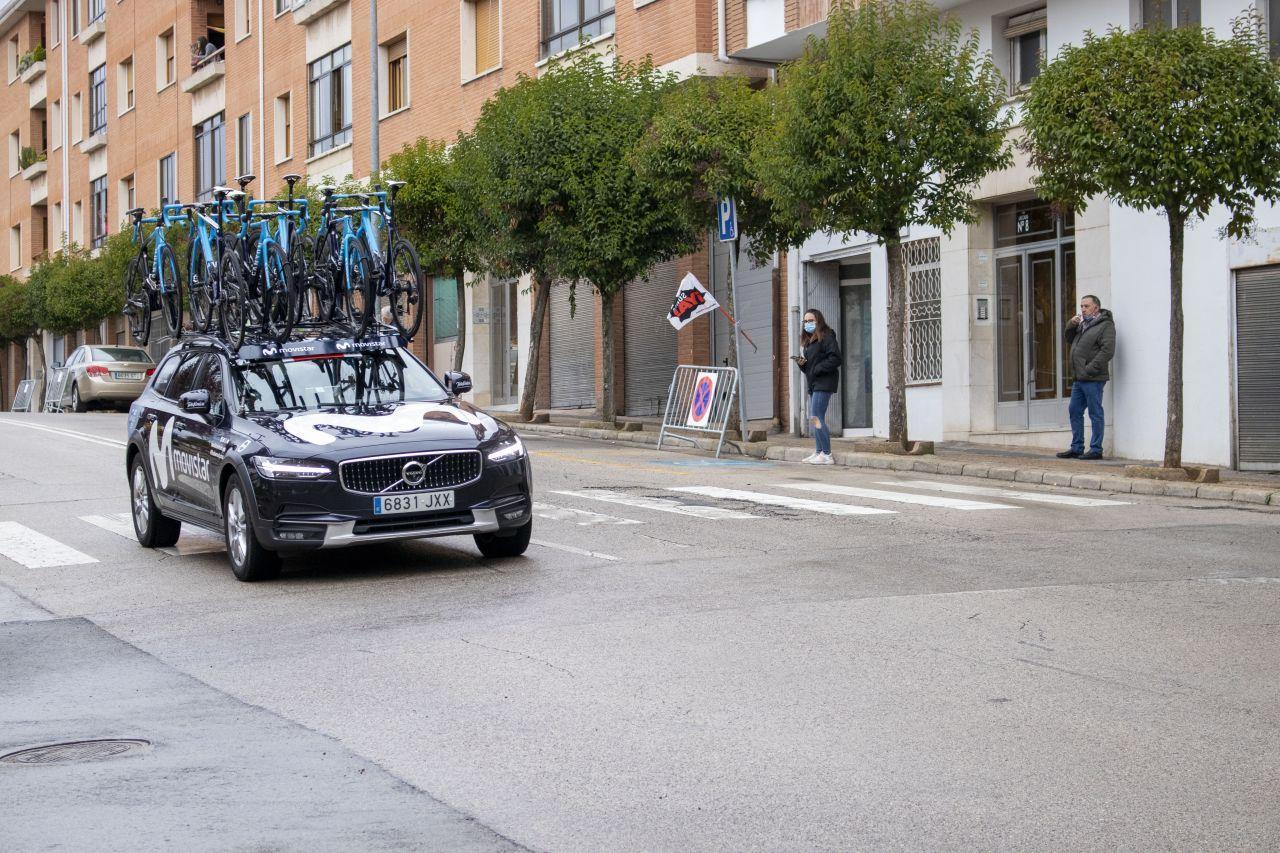 La vuelta ciclista España en Soria foto