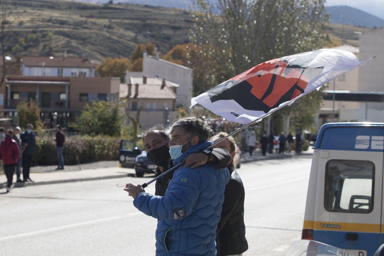 La vuelta ciclista España en Ágreda foto