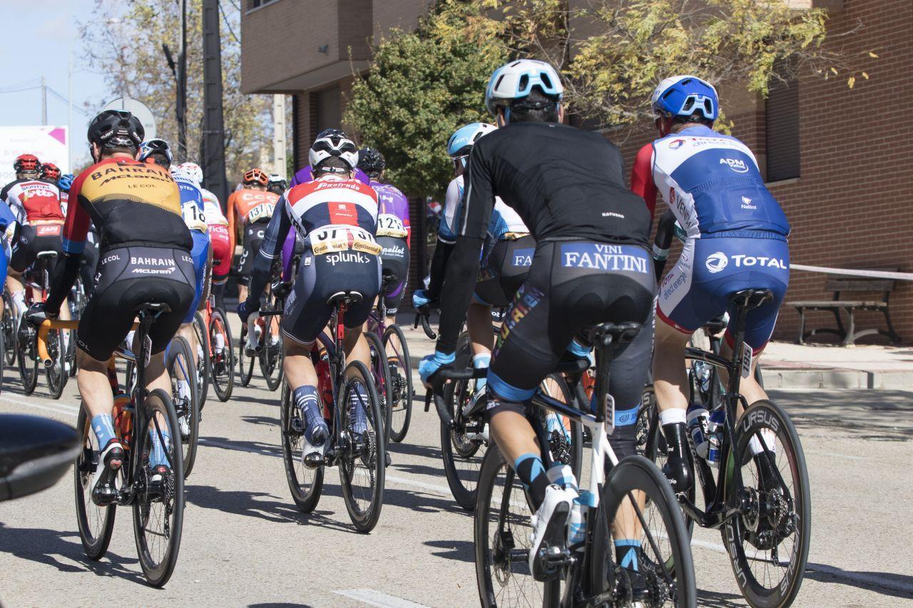 La vuelta ciclista España en Ágreda