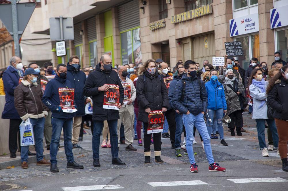 Protesta hostelería 06/11/2020 foto
