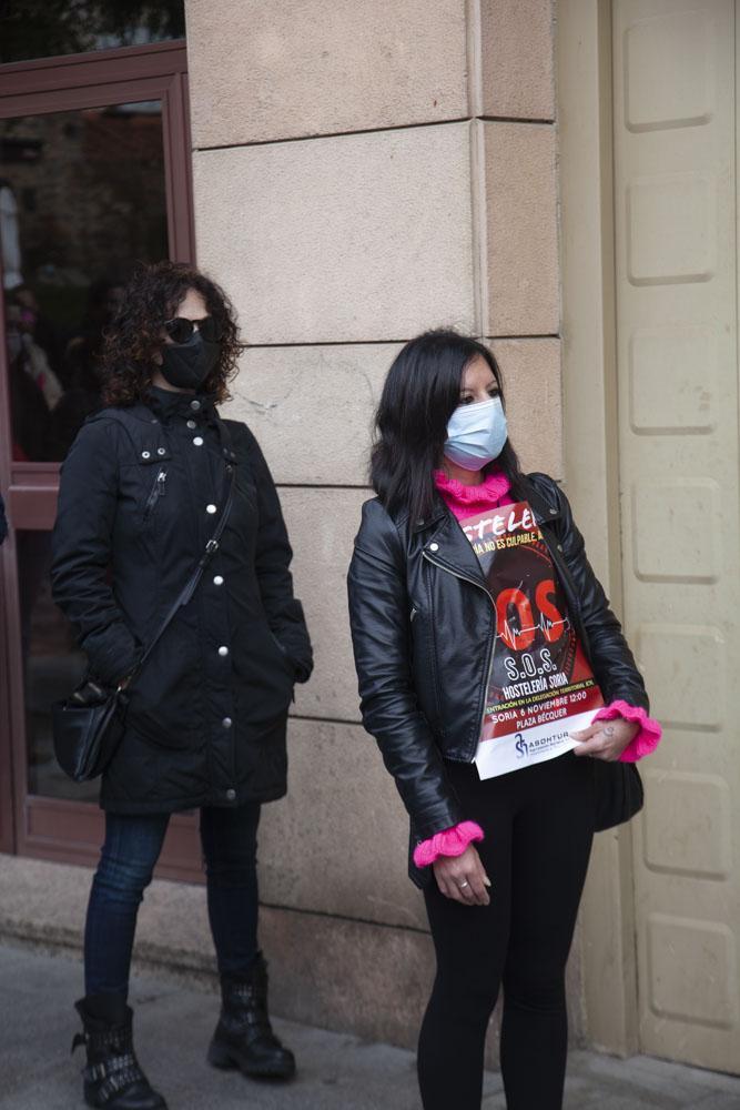 Protesta hostelería 06/11/2020