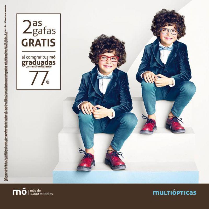 2º gafas GRATIS, niños