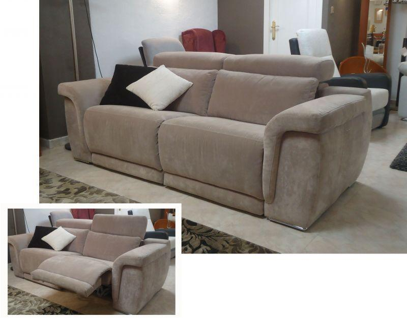 sofa con 2 relax