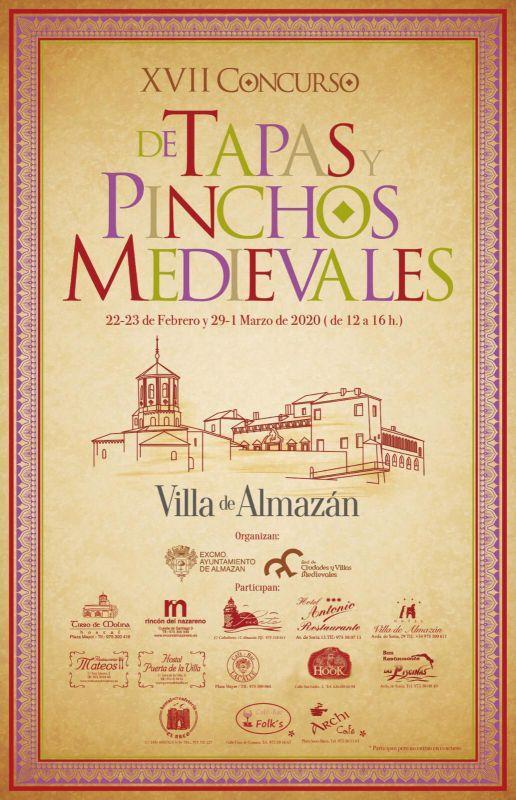 XVII Concurso de Tapas y Pinchos Medievales de la Villa de Almazán