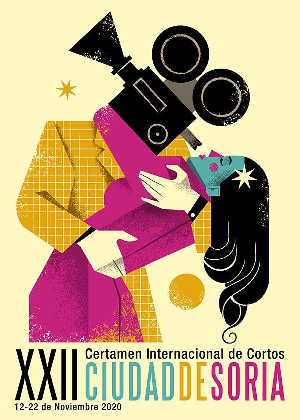 Carteles finalistas Festival de Cortos 2020 foto