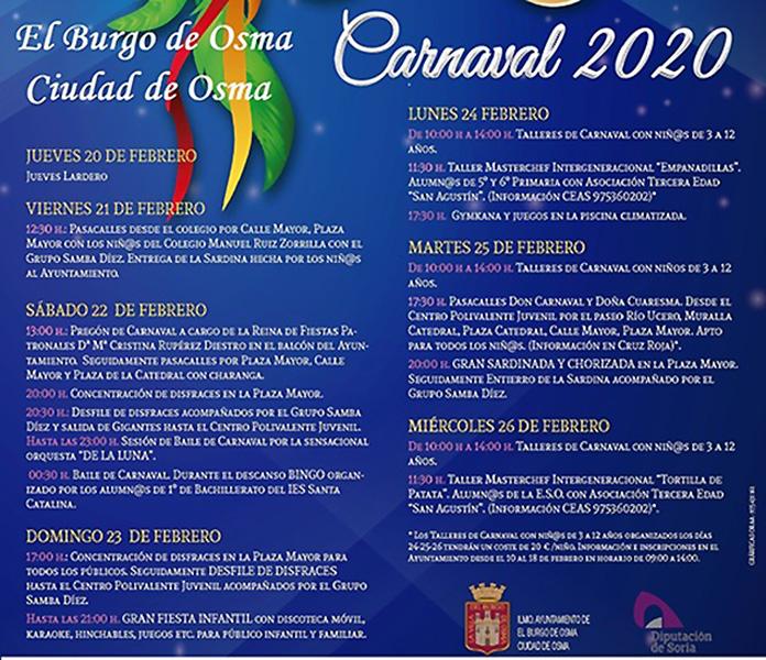Carnavales El Burgo
