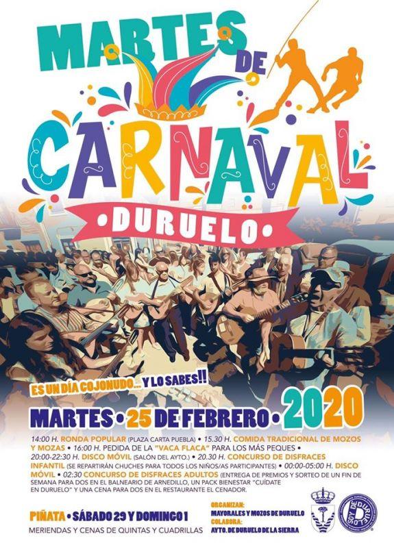 Martes de Carnaval Duruelo