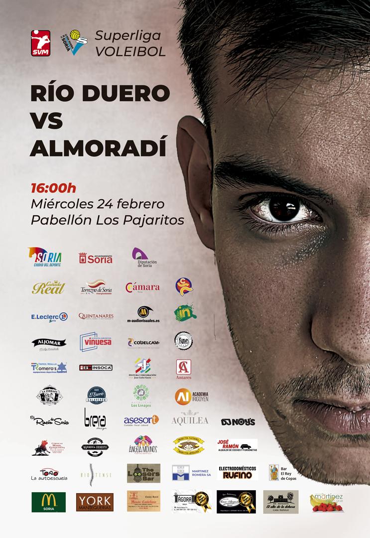 Superliga Voleibol - RÍO DUERO VS ALMORADÍ