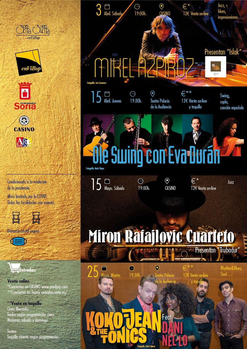 Mikel Azpiroz  en concierto