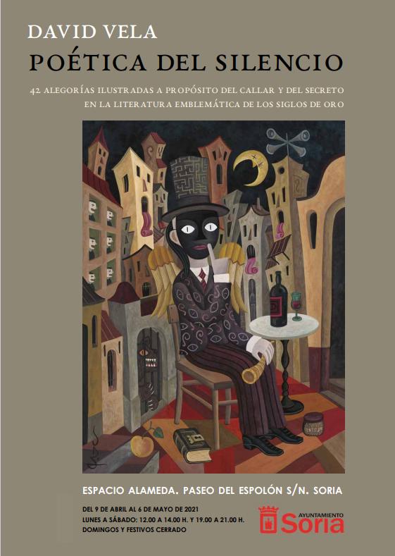 """Exposición """"POÉTICA DEL SILENCIO"""" de David Vela"""