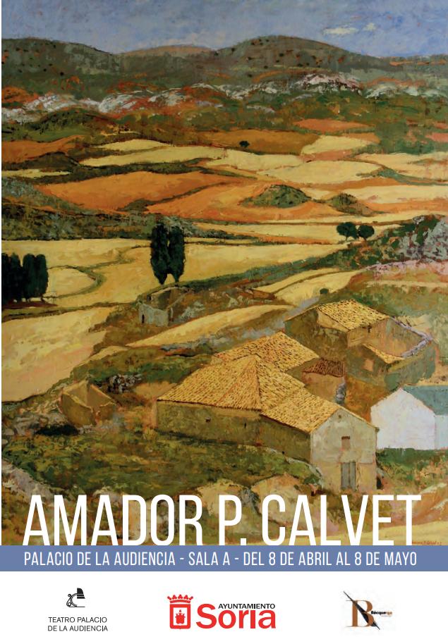 Exposición  de Amador P. Calvet