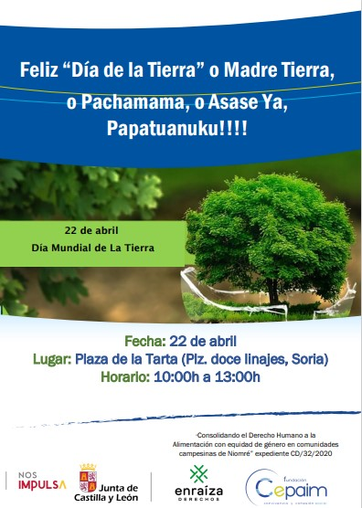 Actividad sensibilización por el Día de la Tierra