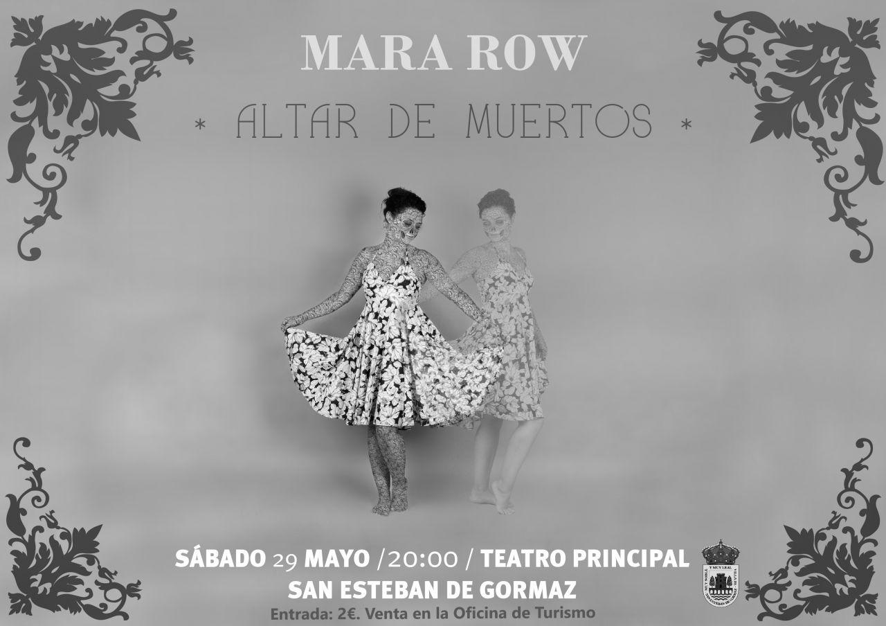 Mara Row y Rubén Romero presentan el espectáculo
