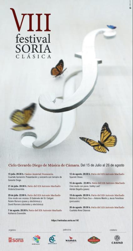 Ciclo Gerardo Diego : Soria Clásica.