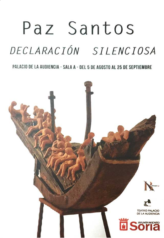 EXPOSICIÓN DE ESCULTURA DE PAZ SANTOS: