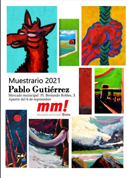 EXPOSICIÓN DE PABLO GUTIÉRREZ: