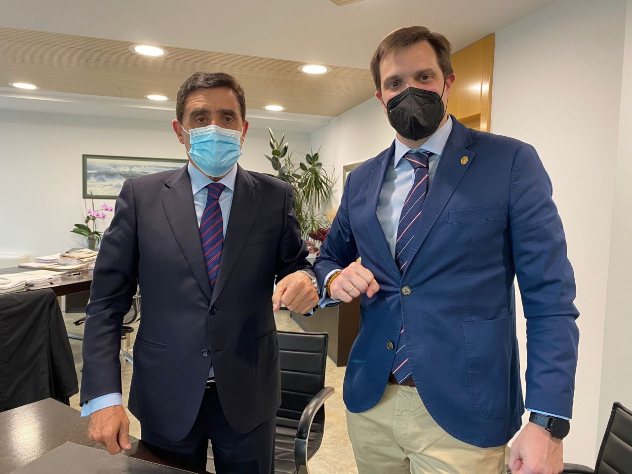 Renovación del convenio entre Caja Rural y el Colegio Oficial de Farmacéuticos de Soria