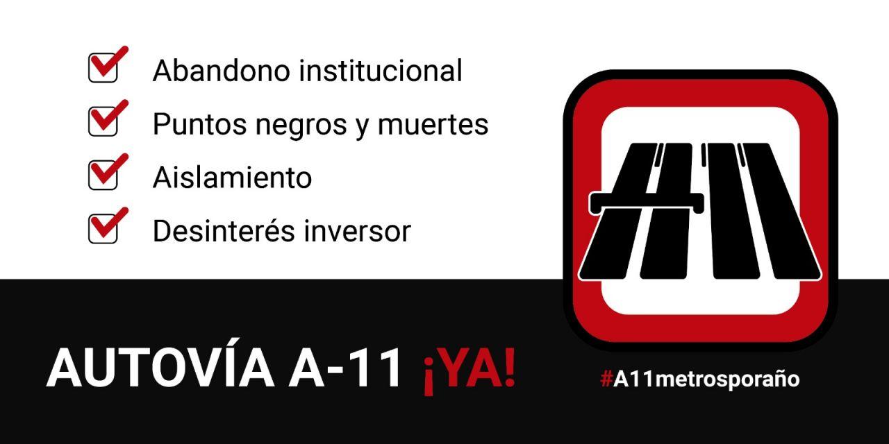 LAS PLATAFORMAS DE LA AUTOVÍA DEL DUERO LANZAN LA CAMPAÑA #A11METROSPORAÑO