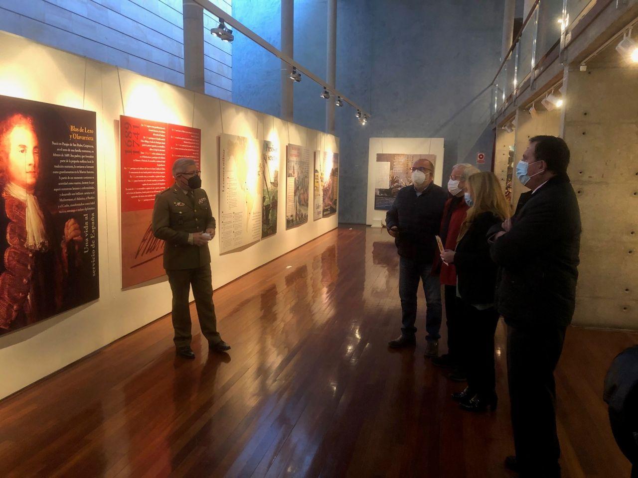 """Exposición """"BLAS DE LEZO"""" en el Palacio  de  La Audiencia  de Soria."""