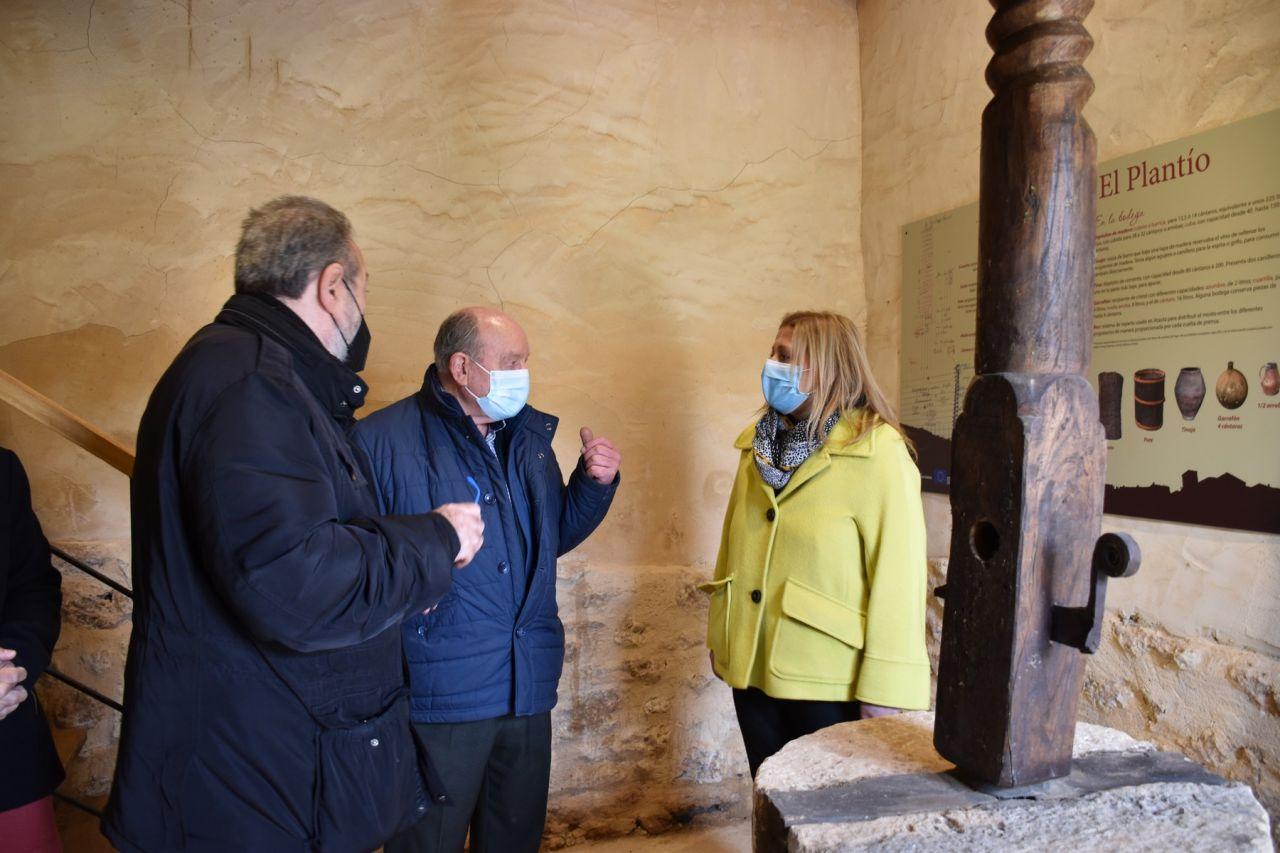La Junta restaurará una lagareta del conjunto de bodegas tradicionales de Atauta