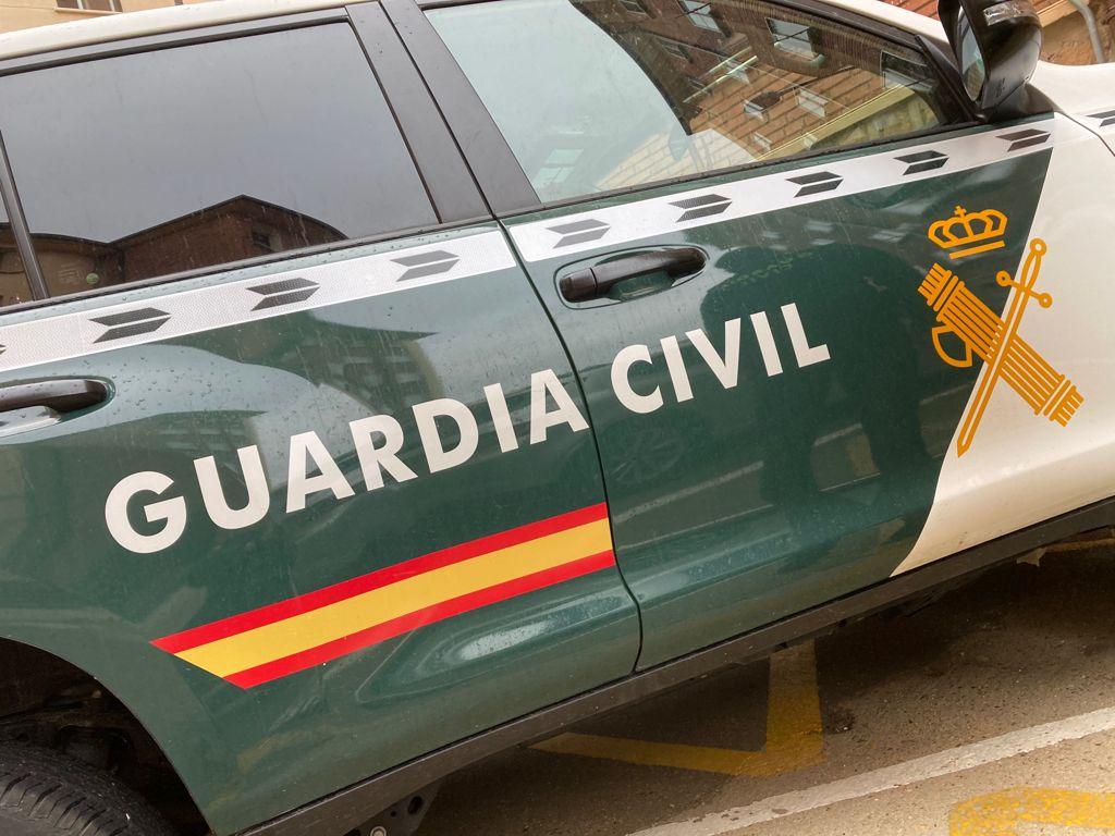 La Guardia Civil detiene a dos vecinos de Madrid como presuntos autores de nueve robos en el interior de furgonetas