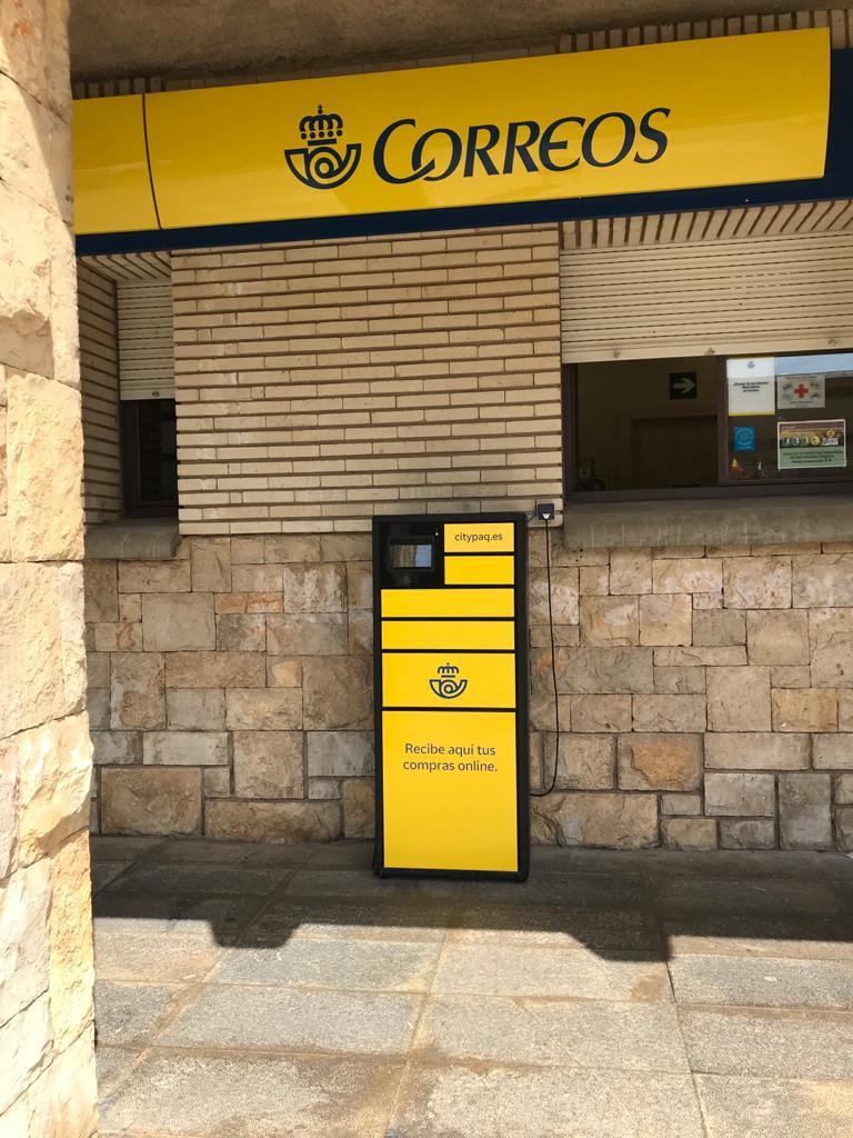 Correos instala un nuevo Citypaq en su oficina de Olvega