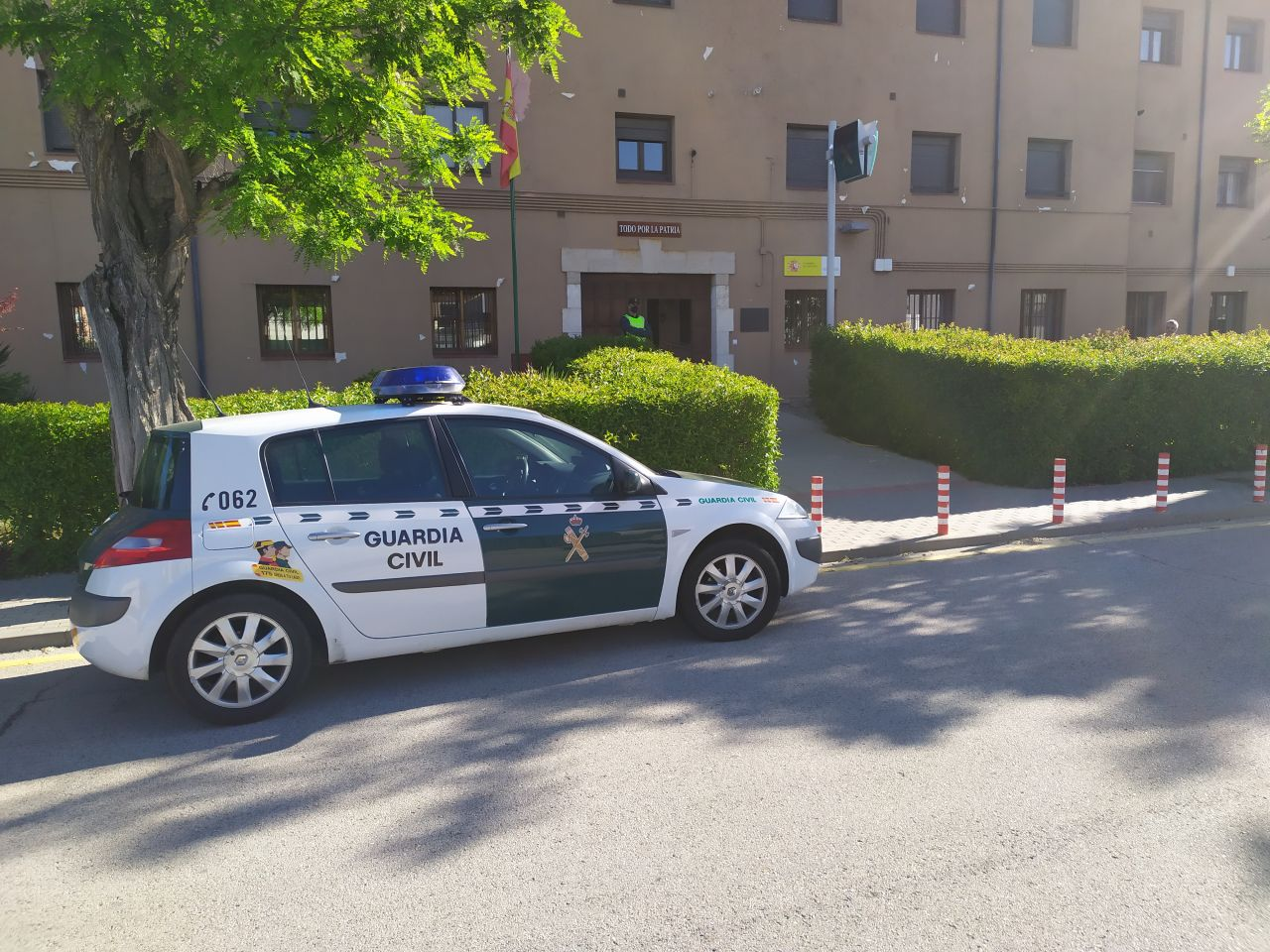 La Guardia Civil detiene en Almazán a cinco jóvenes como presuntos autores de un robo en grado de tentativa