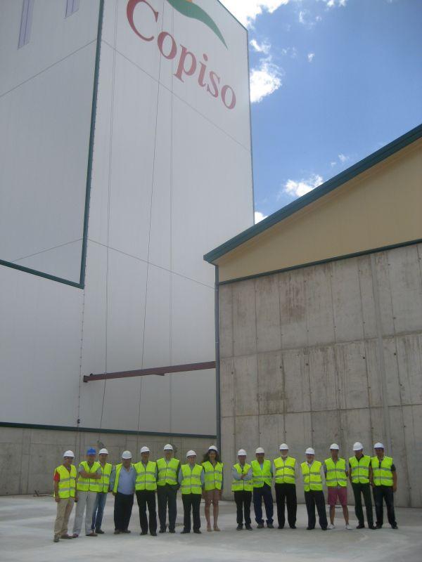 El Comité Ejecutivo de FOES visita las nuevas instalaciones de COPISO