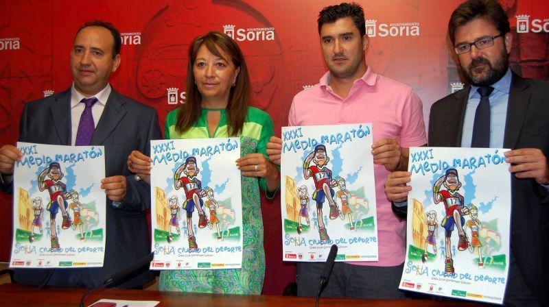La Media Maratón Ciudad de Soria celebra su edición XXI centrada en su vertiente popular y buscando el respaldo del público