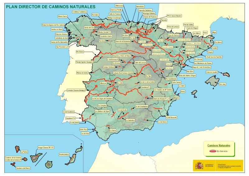 """García Tejerina: """"Los Caminos Naturales son uno de los mejores ejemplos de la capacidad innovadora de las Administraciones para mejorar el bienestar de los ciudadanos"""""""