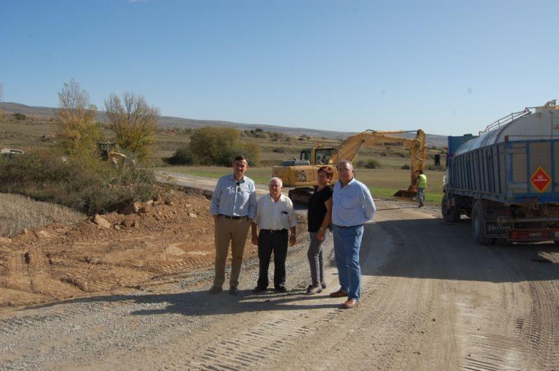Inversiones de 260.000 euros en la mejora de las carreteras provinciales entre las poblaciones de San Gregorio a Cubo de la Sierra, Ausejo a Castilfrío y Aldealseños a Pobar