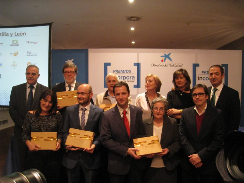 FOES recibe el Premio Incorpora de la Obra Social La Caixa