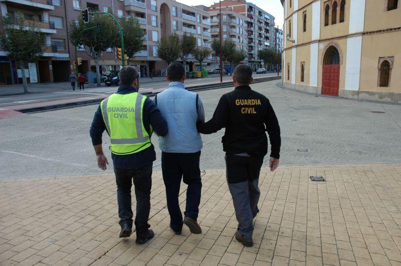 La Guardia Civil detiene a cuatro personas por un robo con violencia y lesiones a tres ancianas en una vivienda de una localidad de la Ribera del Jalón