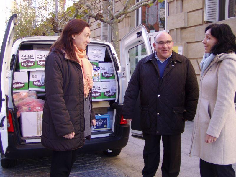 La subdelegación del Gobierno recoge 1.400 kilogramos de alimentos en la campaña promovida entre los empleados de la Administración General del Estado en Soria