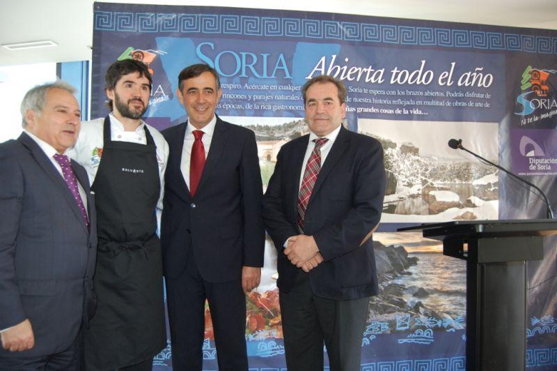 La Diputación de Soria presenta en Valencia su oferta turística