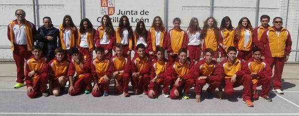 Sensacional plata de Hugo de Miguel en el Campeonato de España cadete de cross