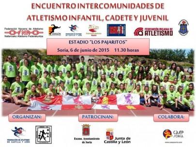 El encuentro Intercomunidades trae a Soria 7 Selecciones autonómicas y más de 500 atletas.