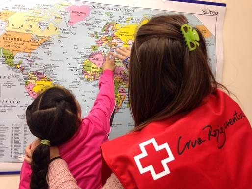 Cruz Roja Juventud promueve el éxito escolar y el desarollo personal de la infancia en dificultad social