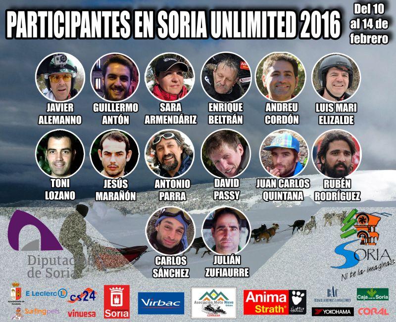 Trece mushers españoles y uno de nacionalidad francesa participarán en Soria Unlimited