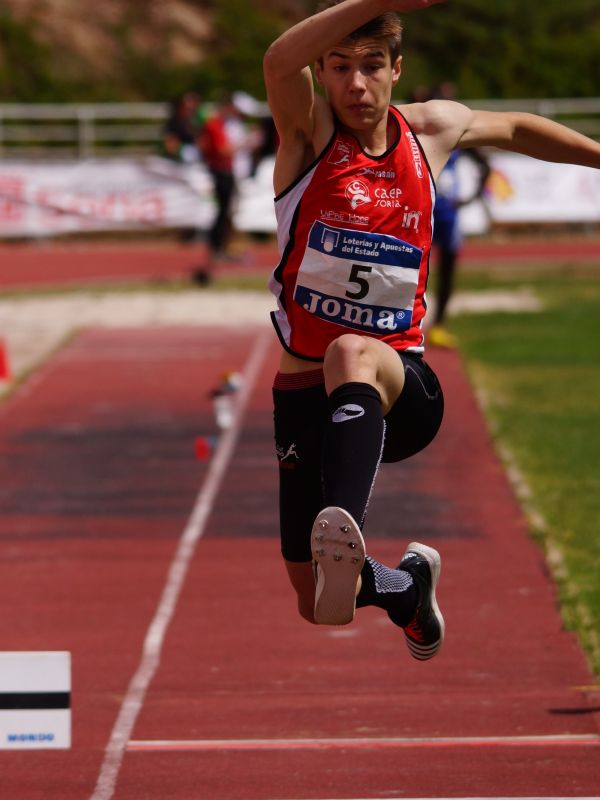 Dos nuevos Campeonatos de España para los atletas sorianos y del CAEP
