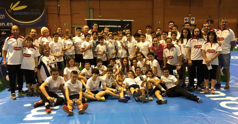 Los Técnicos del Club Valonsadero Bádminton participaron en la XIII Concentración Nacional del Programa 'Se Busca Campeón'