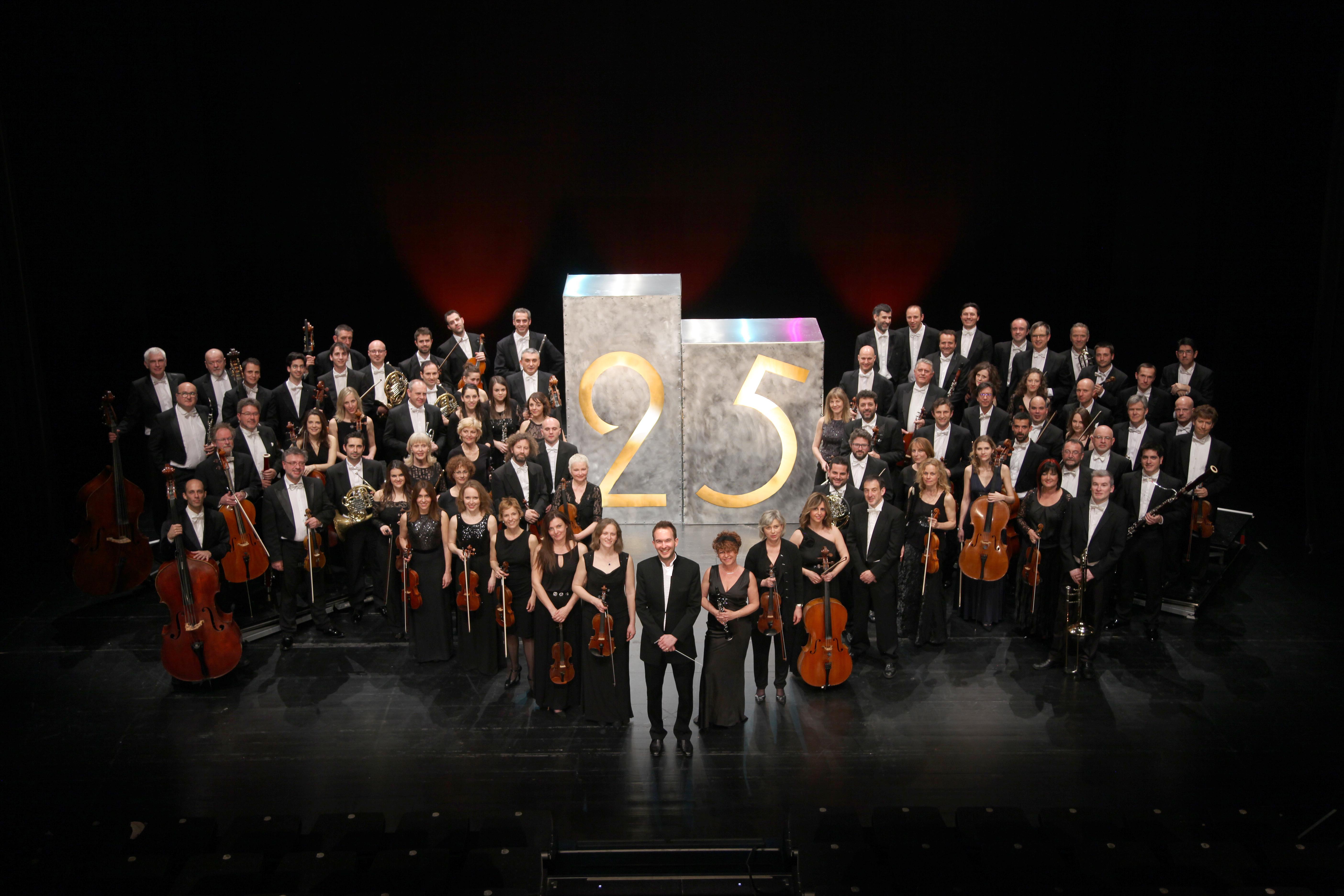 Primer concierto de la Orquesta Sinfónica de Castilla y León dirigida por José Rafael Pascual-Villaplana