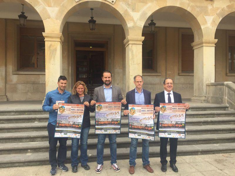 La Media Maratón Abel Antón Ciudad de Soria estrena circuito y cuenta ya con 200 inscritos